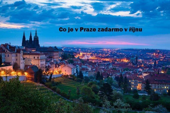 Co Je V Praze Zadarmo V říjnu 2021