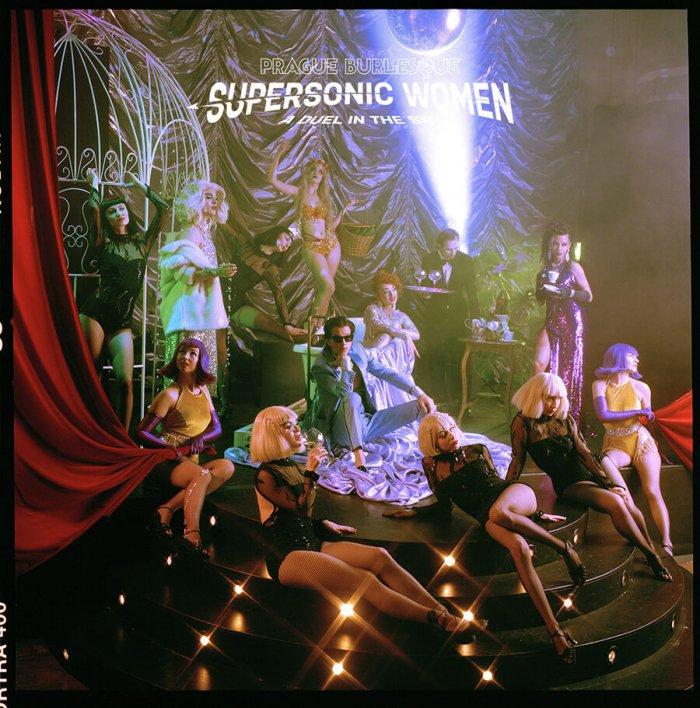 Supersonic Women Budou Výběrem Toho Nejlepšího Od Prague Burlesque
