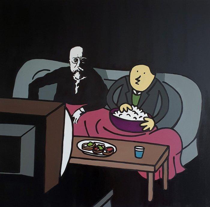 Autor Komiksů JAZ Míří Do Villy Pellé. Bere Si Na Mušku Volby I Pátečníky
